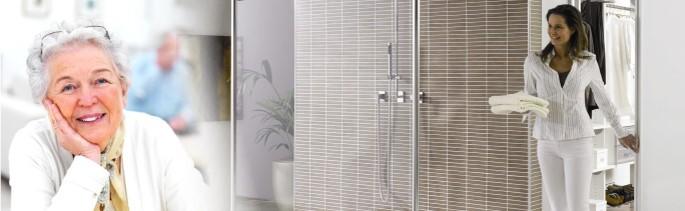 seniorenbad badezimmer f r senioren altersgerechtes bad. Black Bedroom Furniture Sets. Home Design Ideas